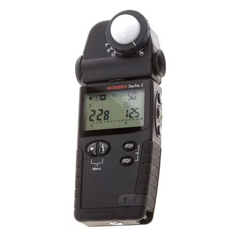 Gossen Starlite II Multifunction Light Meter, Ambient, Flash and CIne  by Gossen