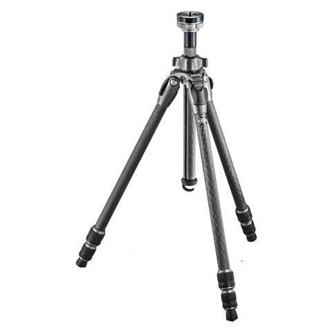"""Gitzo GT0532 Mountaineer Series 0 Carbon Fiber 3 Sections Tripod, 51.97"""" Maximum Height, 17.64lbs Load Capacity  by Gitzo"""