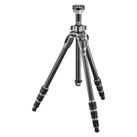 """Gitzo GT0542 Mountaineer Series 0 Carbon Fiber 4 Sections Tripod, 53.94"""" Max Height, 17.64lbs Load Capacity  by Gitzo"""