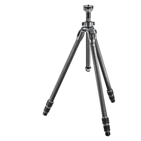 """Gitzo GT1532 Mountaineer Series 1 Carbon Fiber 3 Sections Tripod, 62.2"""" Max Height, 22.04lbs Load Capacity  by Gitzo"""