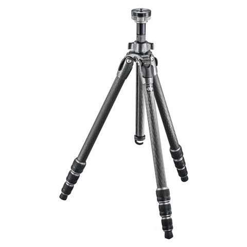 """Gitzo GT1542 Mountaineer Series 1 Carbon Fiber 4 Sections Tripod, 62.60"""" Max Height, 22.04lbs Load Capacity  by Gitzo"""