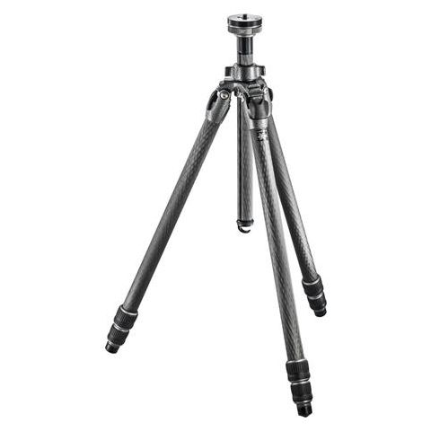 """Gitzo GT2532 Mountaineer Series 2 Carbon Fiber 3 Sections Tripod, 65.35"""" Max Height, 39.68lbs Load Capacity  by Gitzo"""