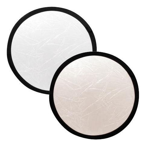 "Lastolite 12"" Circular Collapsable Disc Reflector, Sunlite / Softsilver  by Lastolite"