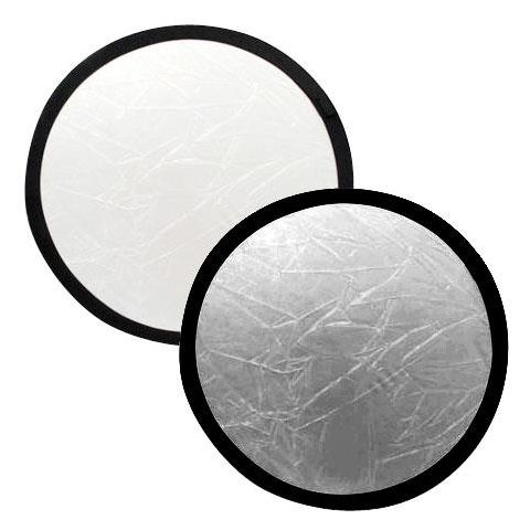 "Lastolite 20"" Circular Collapsable Disc Reflector, Silver / White  by Lastolite"