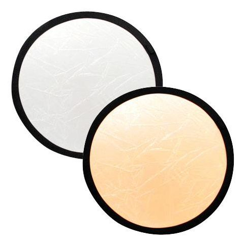 "Lastolite 20"" Circular Collapsable Disc Reflector, Gold / White  by Lastolite"