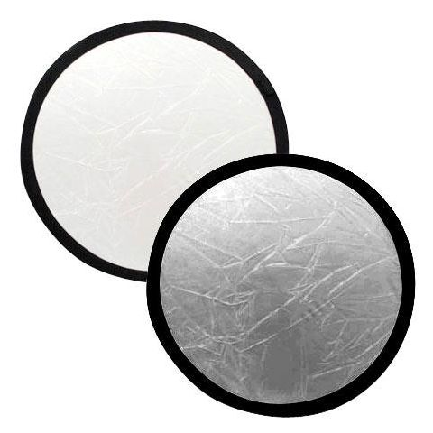 "Lastolite 30"" Circular Collapsable Disc Reflector, Silver / White  by Lastolite"