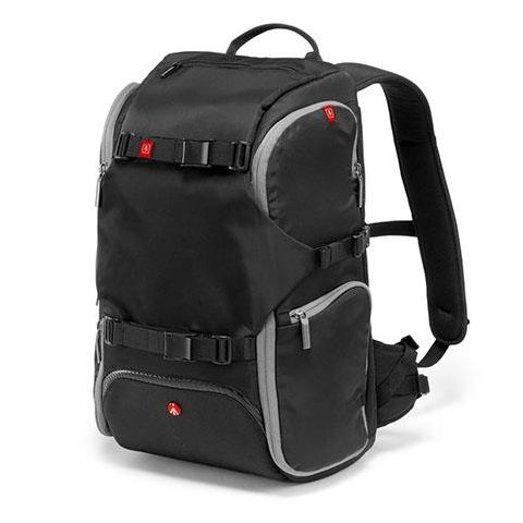 "Manfrotto Advanced Travel Backpack, 13"" Laptop Compartment, External Tripod Connections, Black  by Manfrotto"