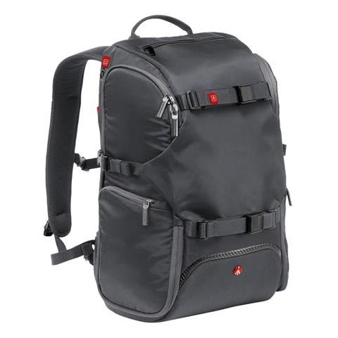 """Manfrotto Advanced Travel Backpack, 13"""" Laptop Compartment, External Tripod Connections, Gray  by Manfrotto"""