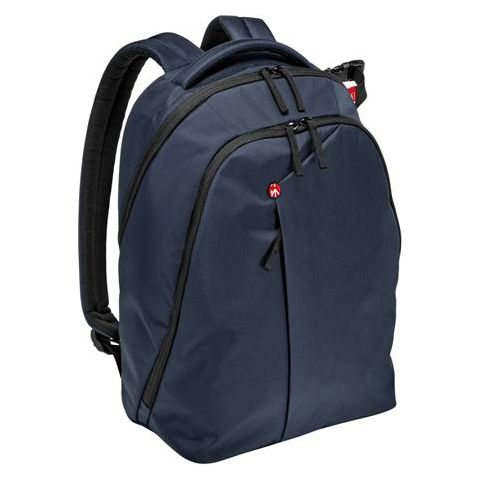 Manfrotto NX Backpack for DSLR Camera, Laptop and Personal Gear, Blue  by Manfrotto
