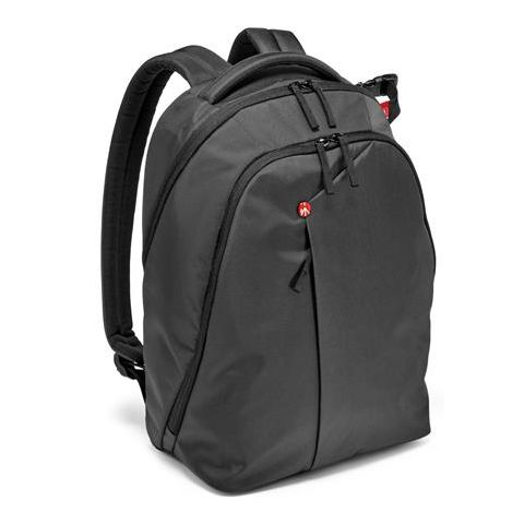 Manfrotto NX Backpack for DSLR Camera, Laptop and Personal Gear, Grey  by Manfrotto