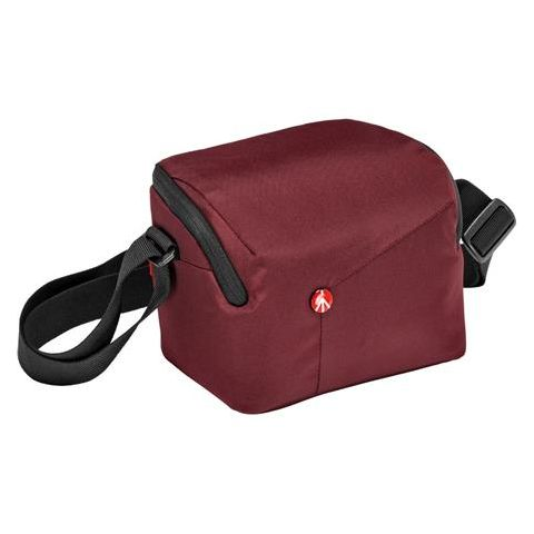 Manfrotto NX Shoulder Bag for CSC Mirrorless Camera with Additional Lens, Bordeaux  by Manfrotto