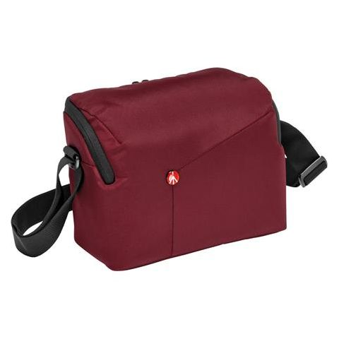 Manfrotto NX Shoulder DSLR Bag for DSLR Camera with Additional Lens Capacity, Bordeaux  by Manfrotto