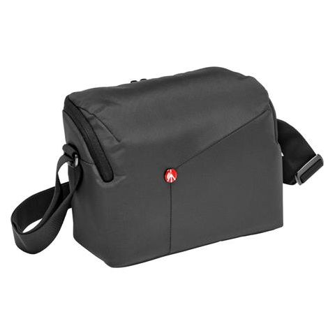 Manfrotto NX Shoulder DSLR Bag for DSLR Camera with Additional Lens Capacity, Grey  by Manfrotto