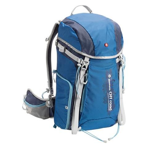Manfrotto 30L Off-Road Hiking Backpack, Blue  by Manfrotto