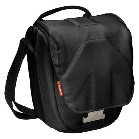 Manfrotto Stile MBSH-4BB Solo IV Holster for DSLR with Attached 17-55mm Lens, Black  by Manfrotto