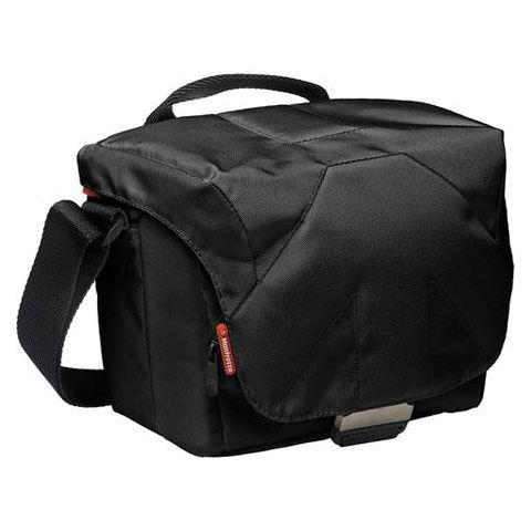 Manfrotto MBSSB-4BB Stile Bella IV Shoulder Bag for DSLR with Up to 18-105mm Lens, Black  by Manfrotto