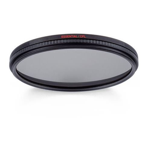 Manfrotto MFESSCPL-52 52mm Essential Circular Polarizing Filter, Anti-reflective Coating, 2 Coating Layers, Water Repellent  by Manfrotto