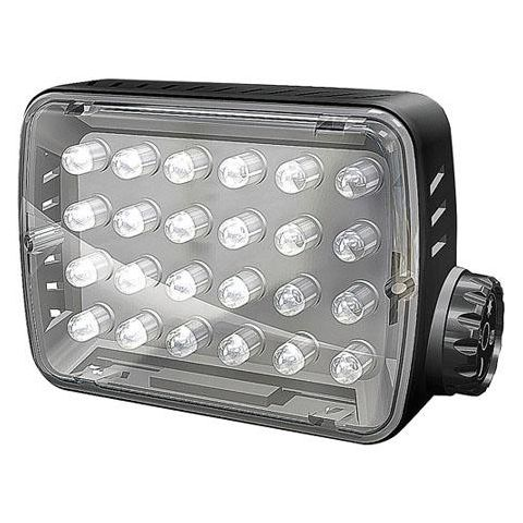 Manfrotto ML240 Mini-24 On-Camera LED Light with Dimmer, 5600K Daylight - Bonus Comes with KLYP Case for iPhone 4/4S  by Manfrotto