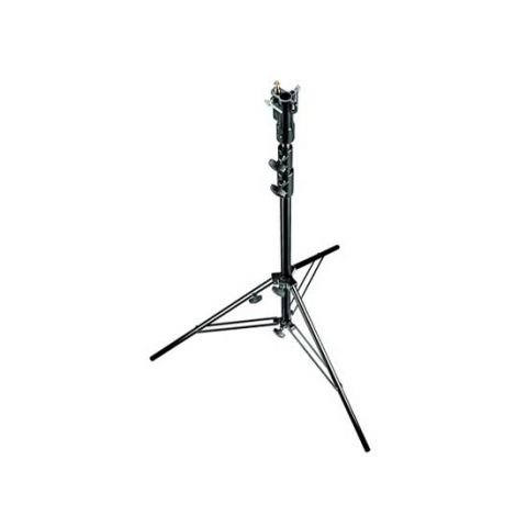 Manfrotto 007U Aluminum Senior Stand with Leveling Leg by Manfrotto