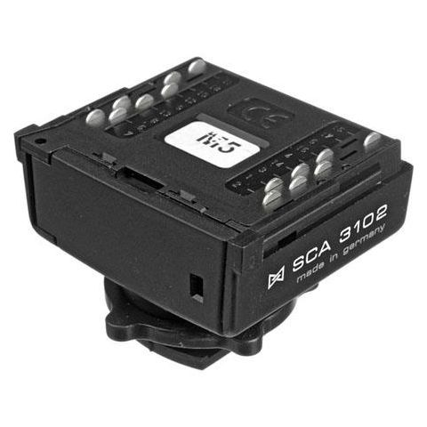 Metz SCA-3102 Dedicated TTL Flash Adapter (Sync and TTL). For all Canon EOS, D30, D60, 1D, 1Ds  by Metz