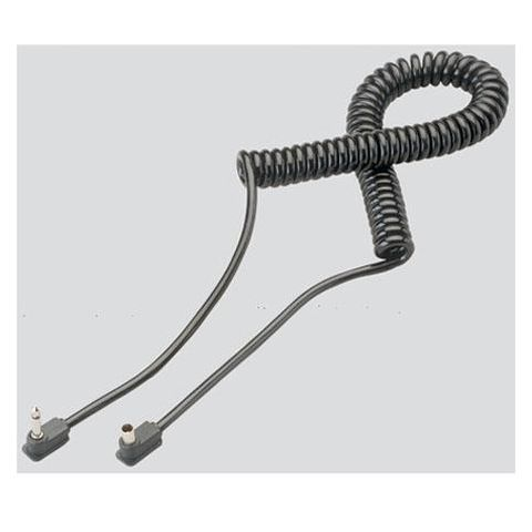 Metz 3' Coiled Sync Cord, Mini-phone Plug to PC for the 36CT-2/3, 40MZ-2/3, 50MZ-5, 54MZ-3 and 70MZ-4/5  by Metz