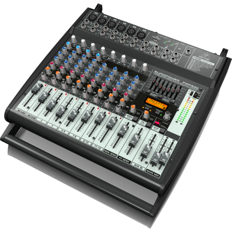 Behringer Europower PMP500 500-Watt 12-Channel Powered Mixer  by Behringer