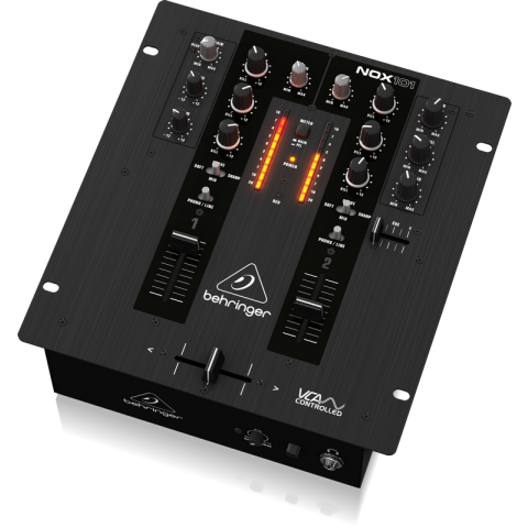 Behringer NOX101 2-Channel Pro DJ Mixer with Full VCA Control  by Behringer
