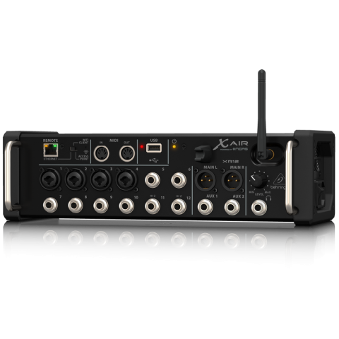 Behringer X Air XR12 12-Input Digital Mixer for iPad/Android Tablets with Wi-Fi and USB Recorder by Behringer