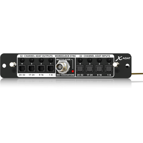 Behringer X-ADAT 32-Channel ADAT Expansion Card For X32 Digital Mixing Console by Behringer