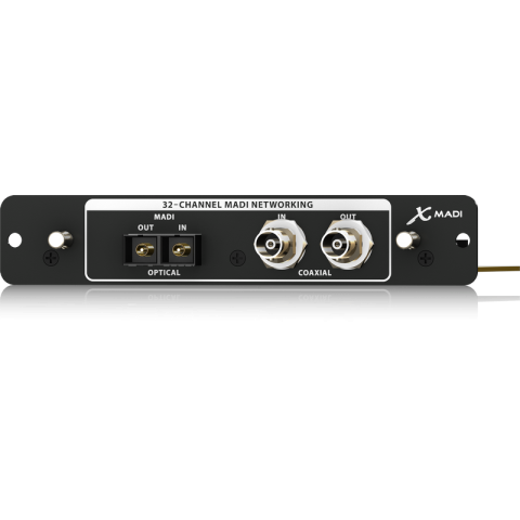 Behringer X-MADI 32-Channel MADI Expansion Card for X32 Digital Mixing Console by Behringer