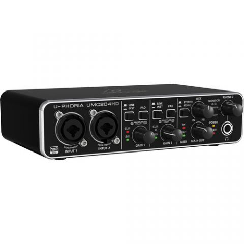 Behringer U-PHORIA UMC204HD - USB 2.0 Audio Interface  by Behringer