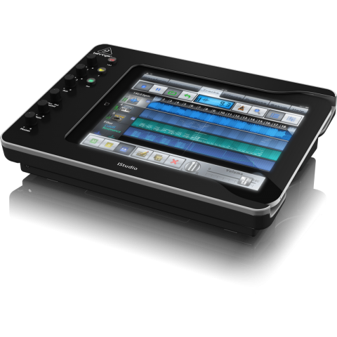 Behringer iStudio iS202 Professional iPad Docking Station with Audio, Video, and MIDI Connectivity  by Behringer