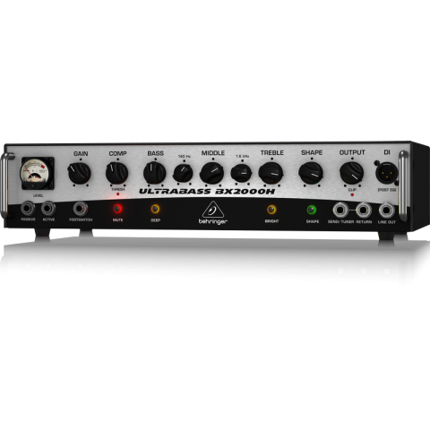Behringer ULTRABASS BX2000H 2,000-Watt Bass Amplifier  by Behringer