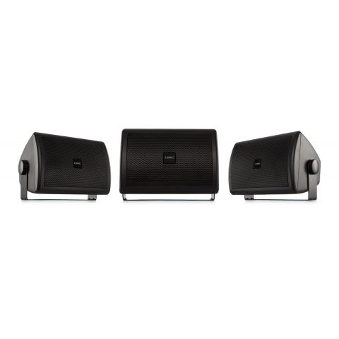 "QSC AC-S4T-BK 4"" 2-Way AcousticCoverage Loudspeaker (Black)  by QSC"