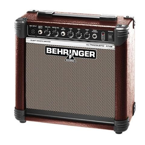 Behringer Ultracoustic AT108 15-Watt Acoustic Instrument Amplifier with VTC-Technology  by Behringer