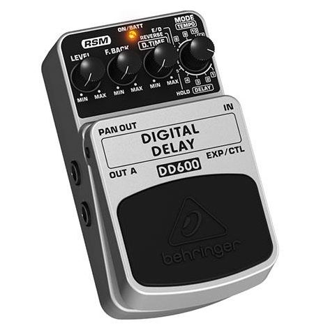Behringer DD600 Digital Stereo Delay/Echo Effects Pedal  by Behringer