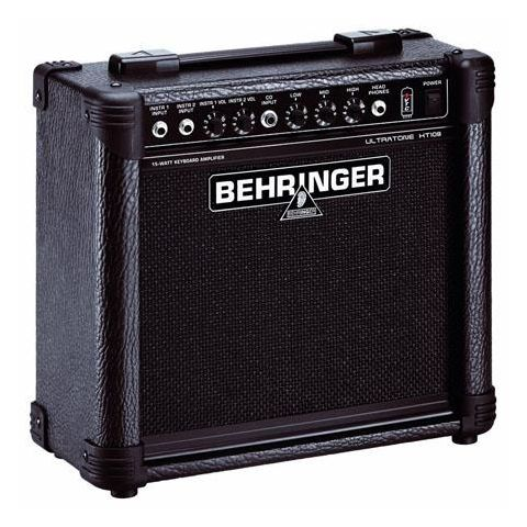 "Behringer ULTRATONE KT108 Ultra-Compact 15W Keyboard Amplifier with VTC-Technology and Original 8"" BUGERA Speaker  by Behringer"