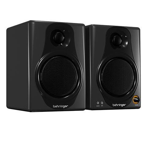 Behringer Media40USB 40W Bi-Amped High-Resolution Digital Monitor Speakers with USB Input, Pair  by Behringer
