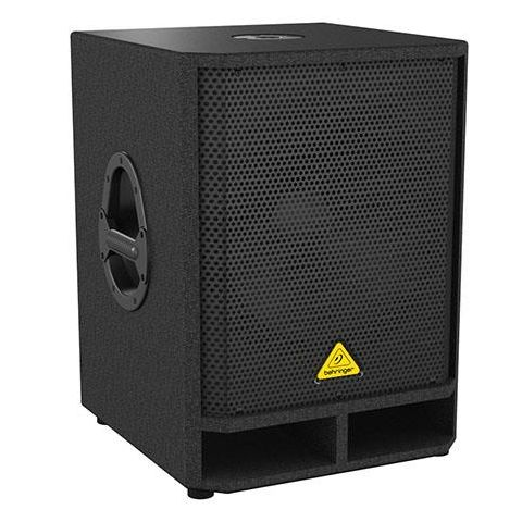 """Behringer Eurolive VQ1500D High-Performance Active 500-Watt 15"""" PA Subwoofer with Built-in Stereo Crossover, 65Hz-150Hz Frequency Response  by Behringer"""