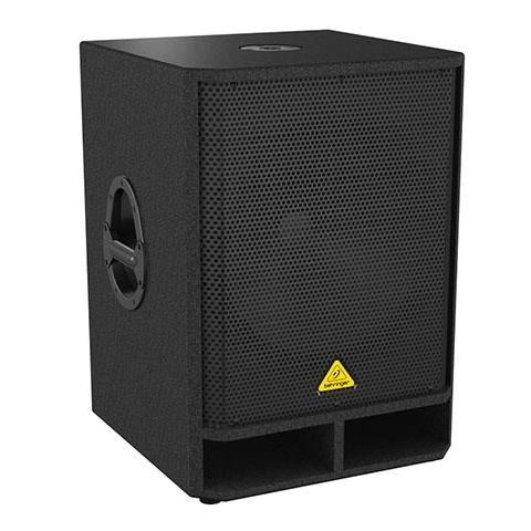 """Behringer Eurolive VQ1800D High-Performance Active 500-Watt 18"""" PA Subwoofer with Built-in Stereo Crossover, 60Hz-150Hz Frequency Response  by Behringer"""