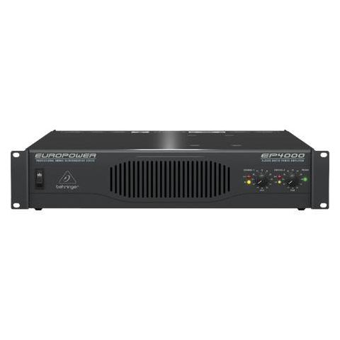 Behringer EP4000 Professional 4000-Watt Stereo Power Amplifier with ATR Technology  by Behringer