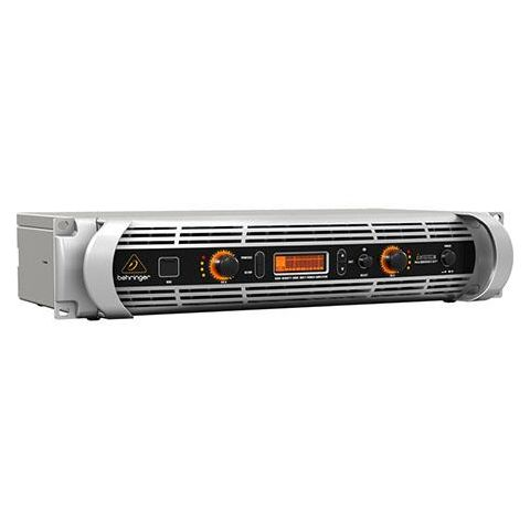 Behringer iNuke NU3000DSP Power Amplifier with Digital Signal Processing Control and USB Interface, 3000 Watts, 20Hz-20kHz Frequency Response  by Behringer