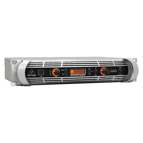 Behringer iNuke NU6000DSP Power Amplifier with Digital Signal Processing Control and USB Interface, 6000 Watts, 20Hz-20kHz Frequency Response  by Behringer