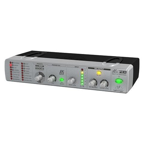 Behringer Minifex FEX800 Ultra-Compact 24-Bit Stereo Multi-FX Processor, 2 Channels, 220Ohms Output Impedance, 10Hz-22kHz Frequency Response  by Behringer