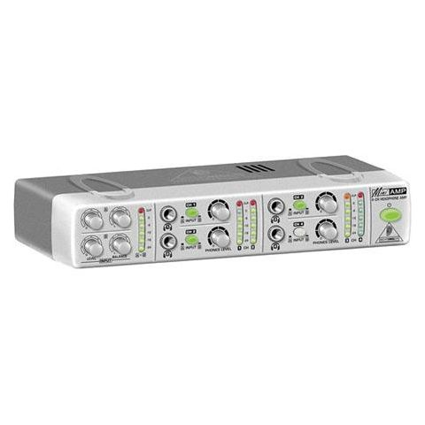 Behringer AMP800 Ultra-Compact 4-Channel Stereo Headphone Amplifier  by Behringer