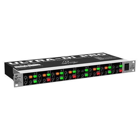 Behringer DI800 V2 Professional Mains/Phantom Powered 8-Channel DI-Box by Behringer