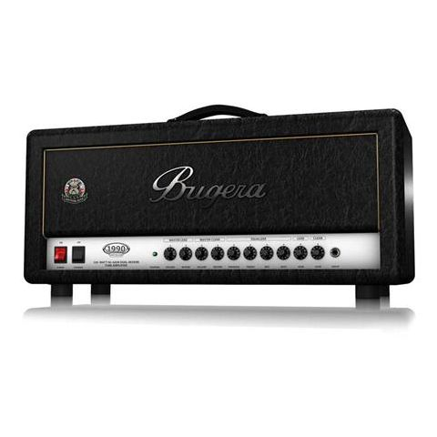 Bugera 1990 INFINIUM British Bite 120W Tube Amplifier Head with Reverb and INFINIUM Tube Life Multiplier