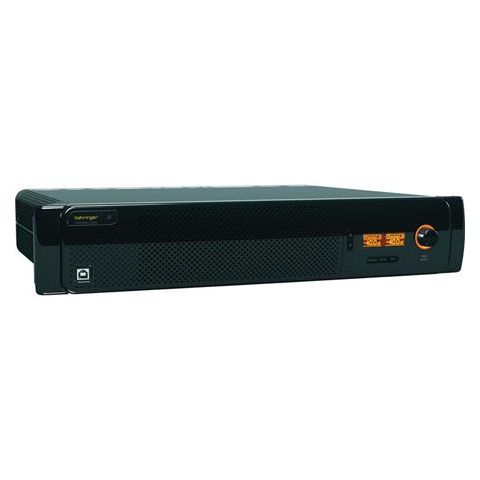 Behringer Eurocom AX6240Z 2CH High-Impedance Power Amplifier, 1000W at 100V Stereo RMS Power  by Behringer