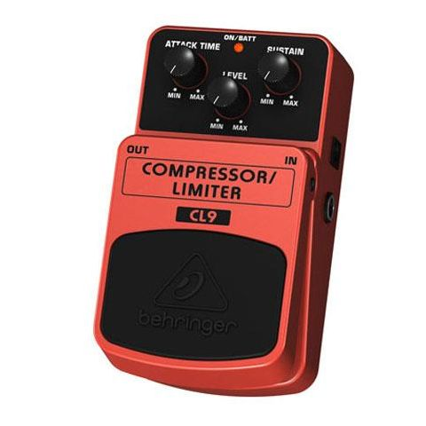 """Behringer Classic Compressor/Limiter Effects Pedal, 500 kOhm Input Impedance, 1/4"""" Input Connector  by Behringer"""