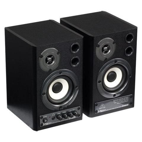 Behringer MS20 20-Watt Digital Stereo Nearfield Monitors, 24-bit/192kHz, SPDIF, Optical Inputs, Pair  by Behringer